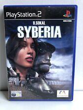 PS2 SYBERIA RPG GAME PAL/ UK VERSION PLAYSTATION 2 RARE