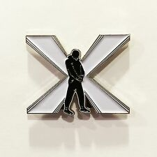 TURNING POINT metal enamel pin hardcore sxe nyhc straight edge youth of today