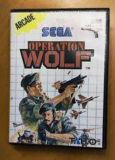 Operation Wolf  SEGA Master System