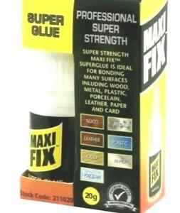 MEGA FIX 20G SUPER GLUE EXTRA STRONG INDUSTRIAL STRENGTH