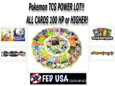 POKEMON TCG POWER LOT 25 RARE CARDS 100HP OR HIGHER 100% AUTHENTIC NO DUPLICATES