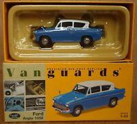 RARE Corgi VA00116 Ford Anglia 105E Blue & White Ltd Edition No. 0005 of 4000