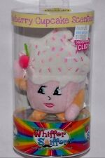 NEW-WHIFFER SNIFFERS-SUGAR CAKE-STRAWBERRY CUPCAKE SCENTED-BACKPACK/ PURSE CLIP