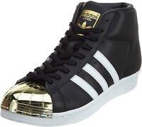Details zu Damen adidas Superstar Turnschuhe Weiß Schwarz Gold Kroko Turnschuhe