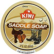 KIWI Saddle Soap 3 1/8 oz (Pack of 2)