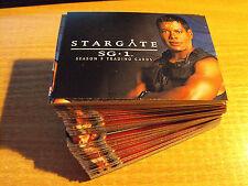 STARGATE SEASON 9 COMPLETE BASIC SET OF 72 CARDS