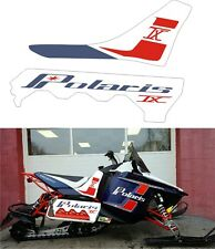 POLARIS RUSH PRO RMK 600 800 PRO R 120 136 SHORT TUNNEL TANK DECAL STICKER tx