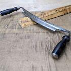 "Vintage Marples & Sons Draw Knife Sheffield England 10"" Blade"