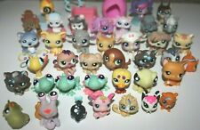 Lot Set of 38 Littlest Pet Shop Animals Used