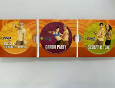 Zumba Fitness At Home DVD Workout Active  Shaker Weights An All Body Cardio Set