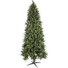 7 1/2' Slim Unlit Yuletide Pine Tree