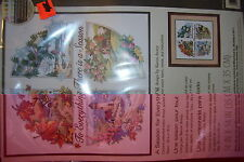 "DIMENSIONS A SEASON FOR EVERYTHING 14"" X 14"" COUNTED CROSS STITCH, NEW"