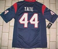 Ben Tate #44 Houston Texans NFL AFC South Nike Blue Red White Jersey M New NWT