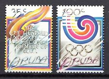 Dutch Antilles / Aruba - 1988 Olympic games Seoul Mi. 49-50 MNH