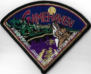 Gamehaven Council 2001 National Jamboree Southeastern Minn. BLK Bdr. [MX-7976]