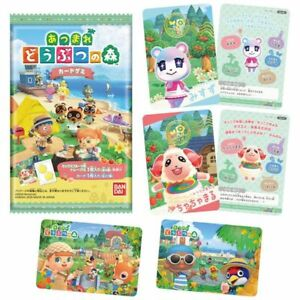 JAPAN animal crossing gummy cards/Random CARDS/The card collection