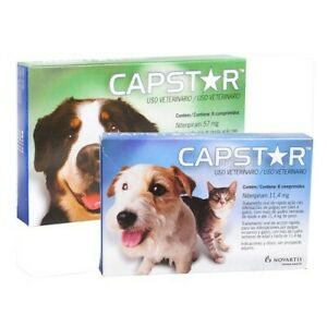 Capstar¹Flea Treatments cats and dogs from 2 to 132 lb (1 à 60 kg) free shipping