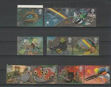 GB GREETINGS Stamps Set 1991 'Good luck' Fine Used