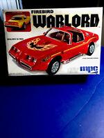 Mpc FIREBIRD WARLORD STREET MACHINE VERSION 1/25 #0735 F/S In Open Box rare  kit
