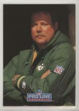1992 Pro Line Portraits Mike Holmgren Rookie Auto