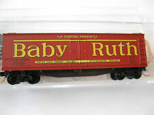 Micro-Trains #04900730 Nestle Baby Ruth #8 40' Double-Sheathed Wood Reefer (N)