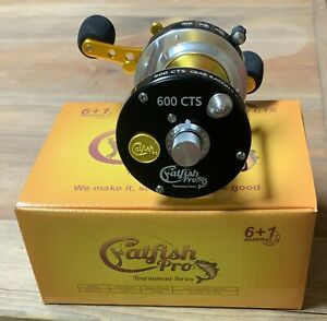 Catfish Pro Tournament Series Round Baitcasting Fishing Reel 600 CTS