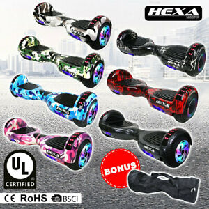 """HEXA 6.5"""" Hoverboard Scooter Self Balancing Electric Hover Board Skateboard"""