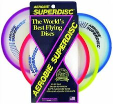 Aerobie Superdisc Flying Frisbee Toy Game Outdoor Colors Disk Kids Age 8 And Up