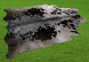 "100% New Cowhide Rugs Area Cow Skin Leather (70"" x 66"") Cow hide ES-2960"