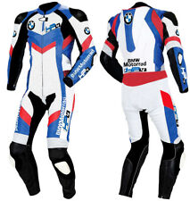 BMW Motorcycle Leather Suit Motorbike Racing Leather Jacket Biker Pant ALL SIZE
