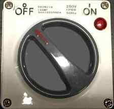 16 AMP  INDUSTRIAL ELECTRICAL SWITCH  IP66 WEATHER PROOF 2 PHASE