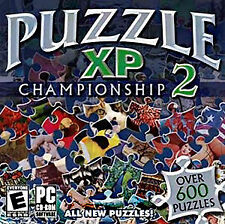 Puzzle Championship II 2 - 600+ Jigsaw Puzzles PC Windows XP Vista 7 Sealed New