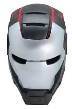 Gray Paintball Airsoft Mask Full Face Protection Iron Man  Prop Cosplay A616