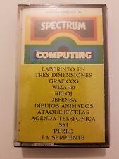 Cinta Spectrum varios juegos Nueva y Sellada version Española Defensa/Ski y mas