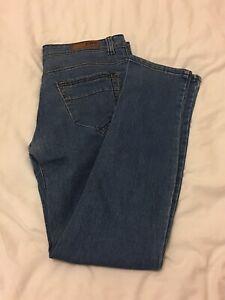 Mens Denim Jeans Trouser Size 38 Long 95cm