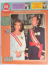Point de Vue du 12/6/1981; Sophie et Juan Carlos/ Semaine Américaine de Rainier