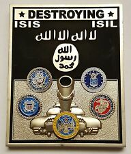 Joint US Forces Op Inherent Resolve North IRAQ SYRIA Destroying ISIS ISIL Daesh