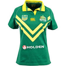 KANGAROOS CLASSIC LADIES JERSEY SIZES 8 12 14 16 18 AUSTRALIAN NRL RUGBY LEAGUE