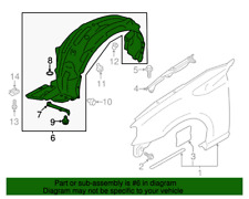 Genuine Toyota (13-16 FR-S)(17-19 86) Right Front Fender Liner SU003-06093