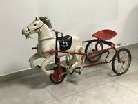 Antique horse pedal. USSR, Soviet Time very RARE