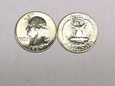 LOT(1 Coin) 1947-P GEM BU WASHINGTON SILVER QUARTER FROM ORIGINAL ROLL SHARP #5