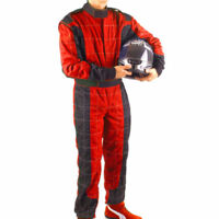 GO Kart Hobby Single Layer Race suit RED-BLACK- New Year Offer