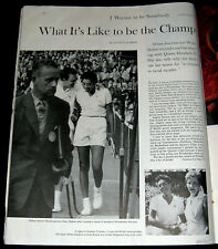 Althea Gibson 1958 What It'S Like To Be Wimbledon Tennis Champion Pictorial