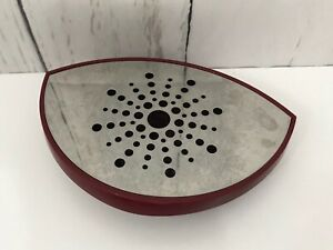Keurig 2.0 Burgundy Plastic Drip Tray and Grate Replacement Part K400