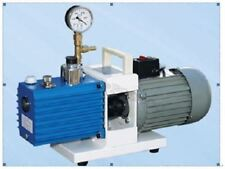 Two Stage Direct Drive Rotary Vane Vacuum Pump 2XZ-0.5, Air Pumping Speed 0.5 hg