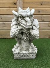 Gargoyle Posing With Sword Statue Garden Ornament Latex & Fibreglass Mould/Mold