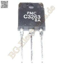 2 x 2SC3263 & 2SA1294 4 complementary transistors 130W 230V 15A  PMC TO-3P 4pcs
