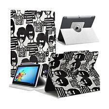 """Housse Etui Motif MV15 Universel S pour Tablette Polaroid Rainbow+ 7"""""""