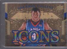 2013 Upper Deck Kansas Icons #SC Sherron Collins Short Print Mint KU Jayhawks