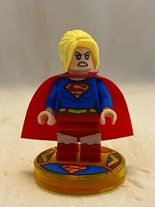 Lego Dimensions 71340 Super Girl Exclusive w/tag stand base red eyes